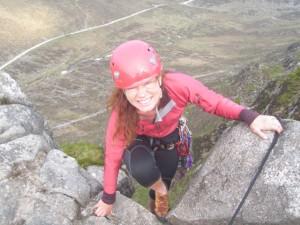 Deirdre Cunningham - Rock Climbing 'White Walls'