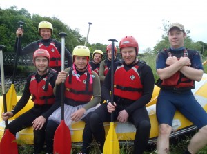Stag Group White Water Rafting
