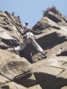 Rock Climbing Annie Kellegher