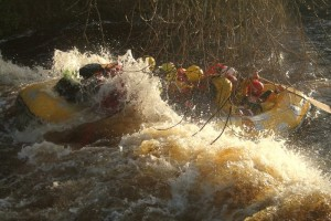 Great rapids, white water rafting with north west adventure